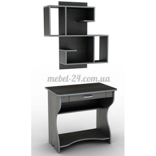 Стол компьютерный наборной СУ-1,полка книжная ПУ-14