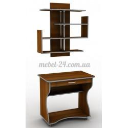 Стол компьютерный наборной СУ-1,полка книжная ПУ-22