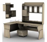 Стол компьютерный наборной СУ-23, СП-12, полка книжная ПУ-15