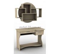 Стол компьютерный наборной СУ-5к, модульные полки